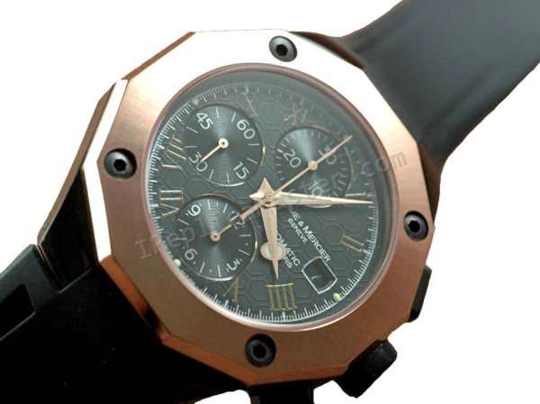 Baume и Мерсье Chrono Риверия Magnum. Swiss Watch реплики