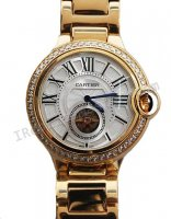 Cartier Ballon Bleu de Cartier Tourbillon Diamonds Replik Uhr