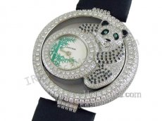 Cartier Pasha De Diamond Ladies Swiss Replica Watch