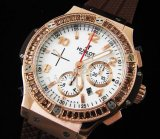 Hublot Big Bang Cappuccino Diamonds Chronograph Swiss Replica Watch