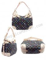 Louis Vuitton Monogram Multicolore Greta M40196 Handbag Replica