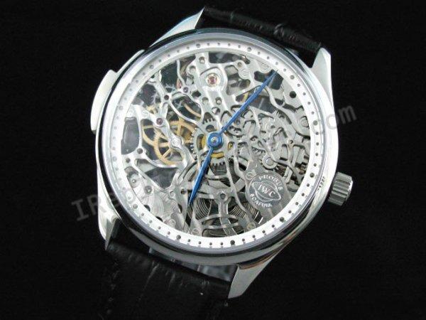 00cb638e034 IWC Portofino esqueleto Suíço Réplica Relógio - €353   Replica ...