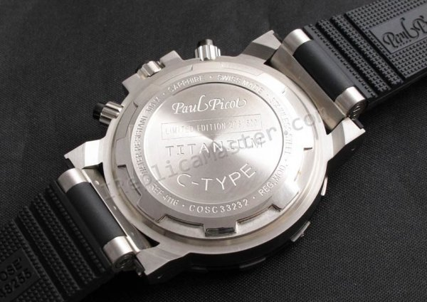 Paul Picot Le Plongeur C-Type Chronograph Replica Watch