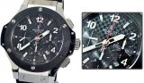 Hublot Big Bang Chronograph Swiss Replica Watch Movment Suíço Réplica Relógio