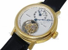 Breguet Jubilee Regulatuer Salmon Real Tourbillon Schweizer Replik Uhr