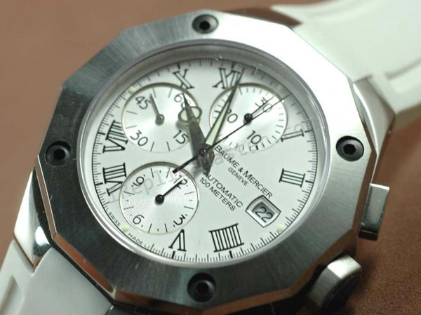 Baume и Мерсье Ривьера XXL Chronograph. Swiss Watch реплики