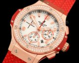 Hublot Big Bang Valentinstag Diamonds Chronograph Schweizer Replik Uhr