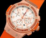 "Hublot Big Bang ""Orange Carat"" Diamonds Chronograph svizzeri rep"