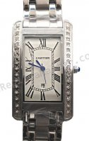 Cartier Tank Americaine Diamonds Replica Orologio