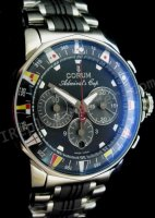 Корум адмиралы Кубок Chronograph. Swiss Watch реплики