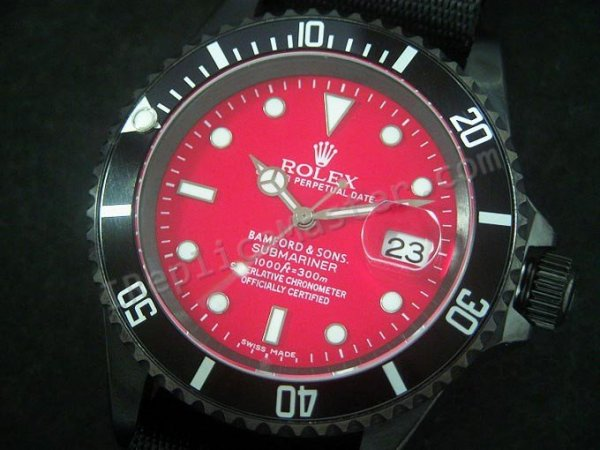 Rolex Submariner Red Swiss Replica Watch