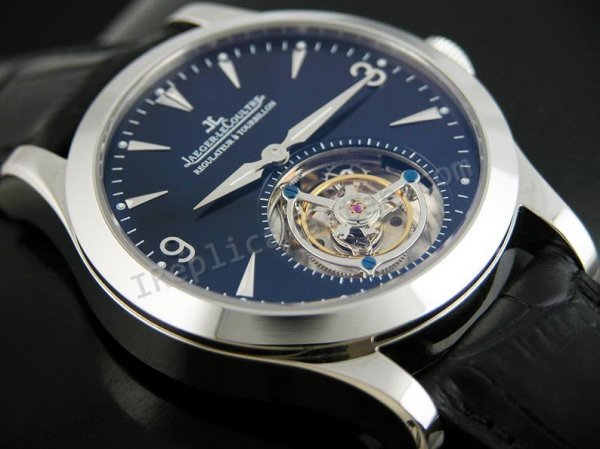 Jaeger le coultre Regulateur Tourbillon Swiss Replica Watch