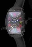Franck Muller horas Color Crazy Dreams Reloj Suizo Réplica