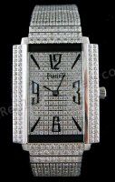 Piaget Black Tie 1967 Watch Alle Diamonds Schweizer Replik Uhr