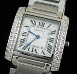 Cartier Tank Francaise Jewellery Replica Watch