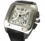 Cartier Santos 100 Chronograph Swiss Replica Watch