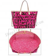 Louis Vuitton Monogram Graffiti Neverfull Gm Pm M93701 Handbag Replica
