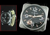 Bell & Ross Instrument BR03-97 Power Reserve Schweizer Replik Uhr