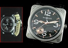 Bell and Ross Instrument BR03-97 Power Reserve Swiss Replica Watch