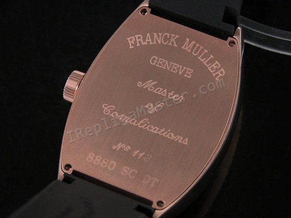 Franck Muller Platinum Rotor Swiss Replica Watch