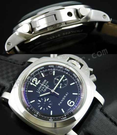 Officine Panerai Luminor 1950 Chronograph FlyBack PAM215 Schweizer Replik Uhr