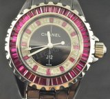 Chanel J12, Real Ceramic Case And Braclet, 34mm Replica Watch