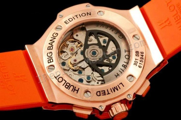 "Hublot Big Bang ""Orange Carat Diamantes Cronógrafo réplica suiza"