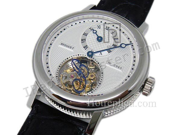 Breguet Юбилейный Regulatuer лосося Real Tourbillon. Swiss Watch